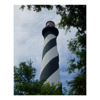 St. Augustine Lighthouse Poster
