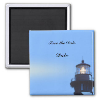 St Augustine Lighthouse Square Magnet