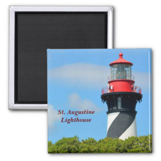 St. Augustine Lighthouse Square Magnet