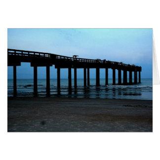 St. Augustine Pier Card