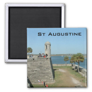 St Augustine Square Magnet