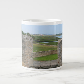 St Augustine view from castle Large Coffee Mug