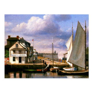 St. Augustine Waterfront painting Postcard
