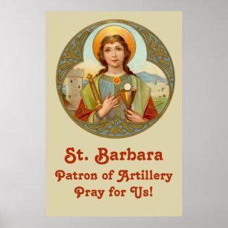 "St. Barbara (BK 001) 24""x36"" Poster #2"