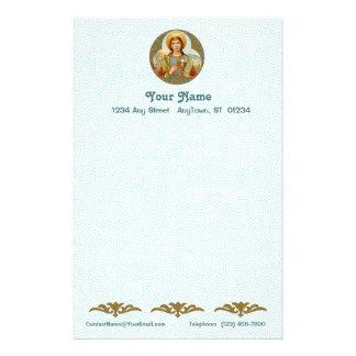 "St. Barbara (BK 001) 5.5""x8.5"" Vert #1a Stationery"