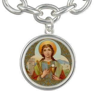 St. Barbara (BK 001) Charm Bracelet
