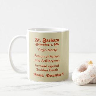 St. Barbara (BK 001) Coffee Mug #1c