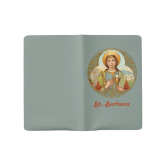 St. Barbara (BK 001) Large Moleskine Notebook