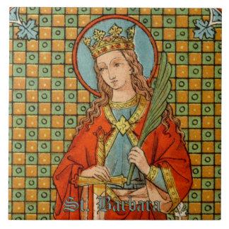 St. Barbara (JP 01) Ceramic Tile #1