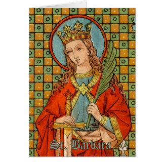 St. Barbara (JP 01) Greeting Card 1