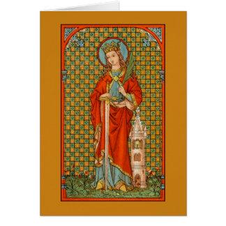 St. Barbara (JP 01) Greeting Card 2