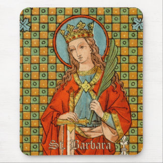 St. Barbara (JP 01) Mouse Pad