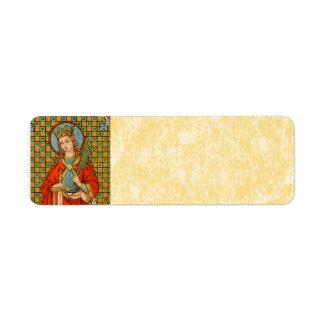 St. Barbara (JP 01) Parchment