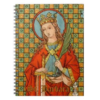 St. Barbara (JP 01) (Style #1) Notebook