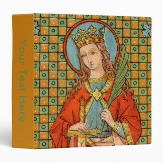St. Barbara (JP 01) (Style #1) Vinyl Binder