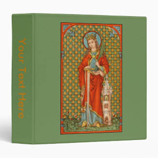 St. Barbara (JP 01) (Style #2) Binder