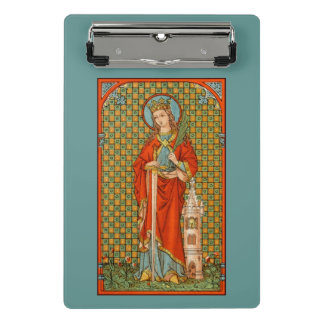St. Barbara (JP 01) (Style #2) Mini Clipboard