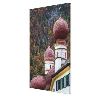 St. Bartholoma Chapel, Bavaria Canvas Print