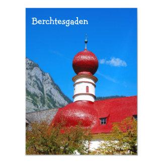St.Bartholomä Church, Berchtesgaden magnetic card