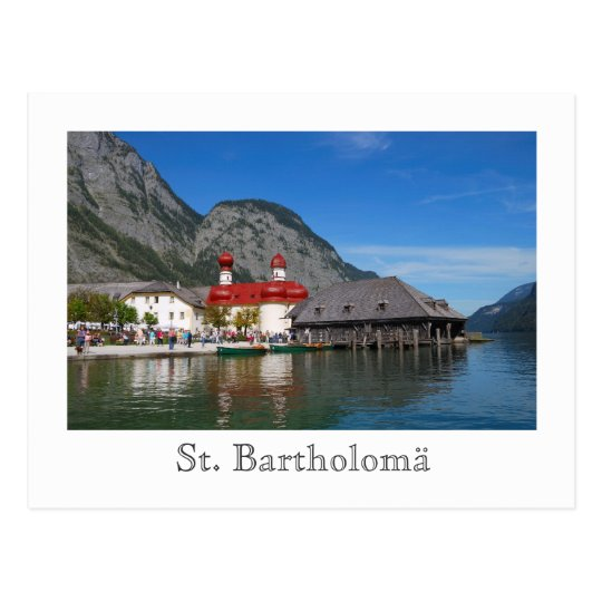 St. Bartholomä Church Postcard