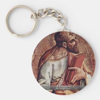 St. Bartholomew, By Crivelli Carlo Keychain