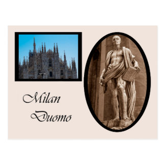St. Bartholomew in Milan Cathedral Postcard