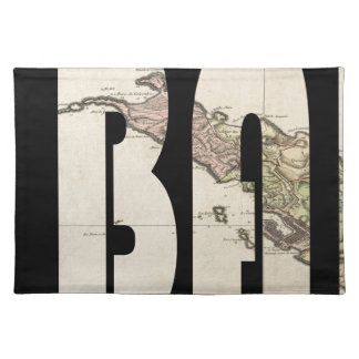 St. Barts 1801 Placemat