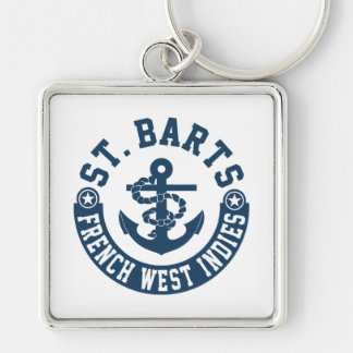 St. Barts French West Indies Keychain