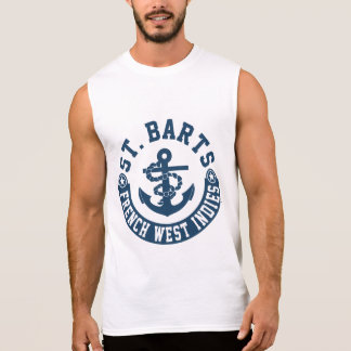 St. Barts French West Indies Sleeveless Shirt