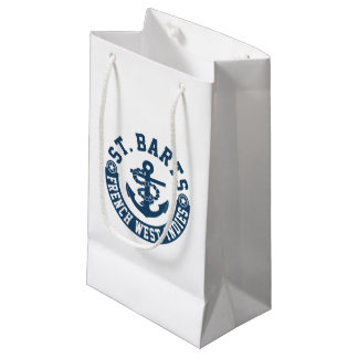 St. Barts French West Indies Small Gift Bag