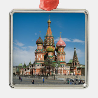 St.Basil Cathedral in Moscow Metal Ornament