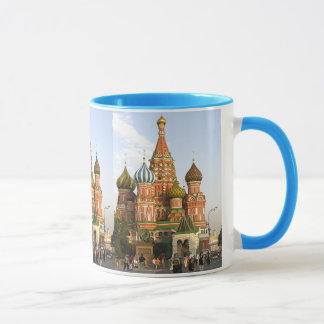 """ST.BASIL CATHEDRAL"" MOSCOW RUSSIA COFFEE MUG"