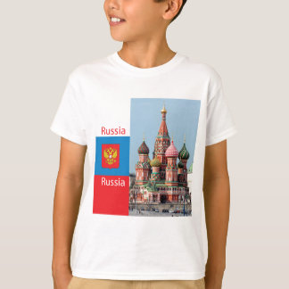 St. Basil cathedral. Russia T-Shirt