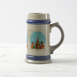 St. Basil's cathedral Beer Stein