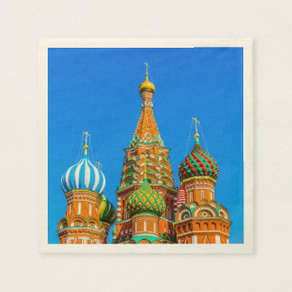 St. Basil's cathedral Disposable Napkins