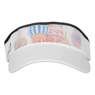 St Basil's Cathedral In Snowstorm Visor