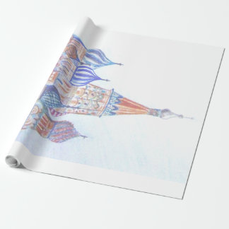St. Basil's Cathedral Wrapping Paper