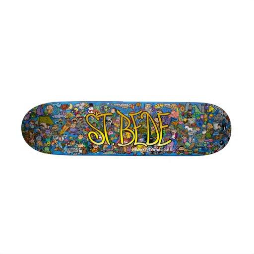 St. Bede Skateboard - Limited Edition 2014