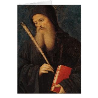 St. Benedict Card