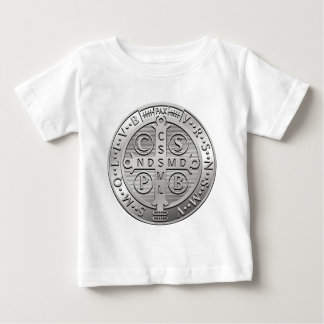 St Benedict Cross Medal Baby T-Shirt
