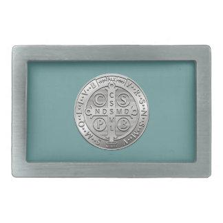 St Benedict Cross Medal Belt Buckles