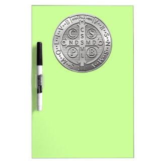 St Benedict Cross Medal Dry Erase Whiteboards