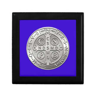 St Benedict Cross Medal Gift Box
