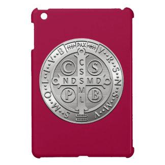 St Benedict Cross Medal iPad Mini Cover