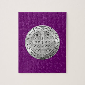 St Benedict Cross Medal Jigsaw Puzzle