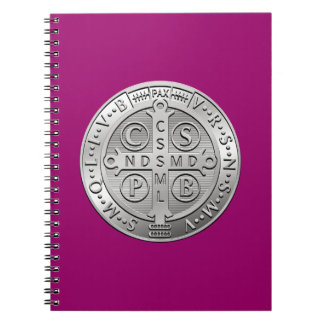 St Benedict Cross Medal Note Books