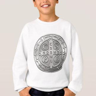 St Benedict Cross Medal Sweatshirt