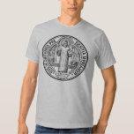 St. Benedict Exorcism Medal T-Shirt