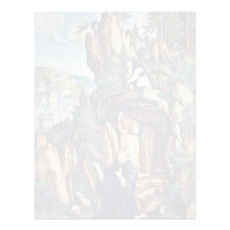 St Benedict In Prayer By Meister Von Meßkirch Be Letterhead