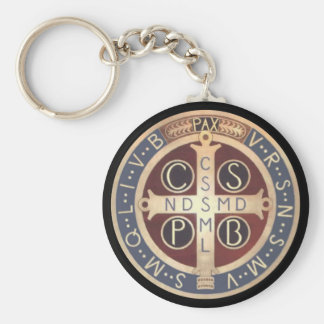 St. Benedict Medal Keychains, Various Styles Keychain